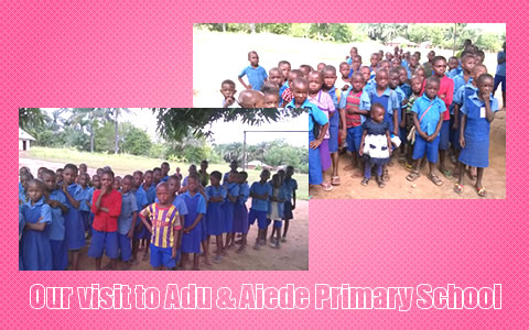 Our Visit to Adu and Aiede Primary School